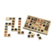 Guidecraft 28-pc. Textured Dominoes Set