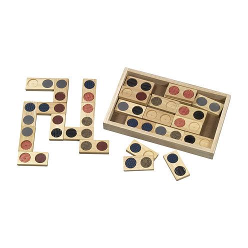 Guidecraft 28-pc. Textured Dominoes Set