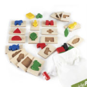 Guidecraft 40-pc. 3D Feel & Find Learning Set