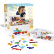 Guidecraft Animal Train Sort-and-Match Learning Toy Set