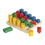 Guidecraft 20-pc. Colored Geo-Forms Early Development Block Set