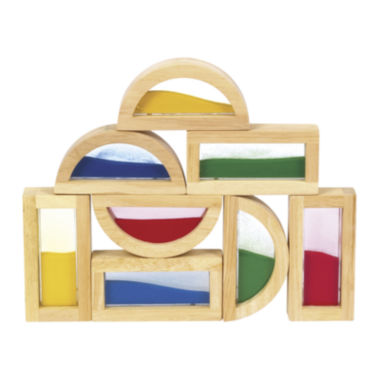 jcpenney.com | Guidecraft 8-pc. Rainbow Sand Building Blocks Set