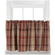 Cooper Rod-Pocket Window Tiers