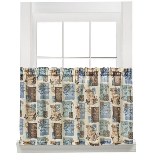 Faith Rod Pocket Window Tiers