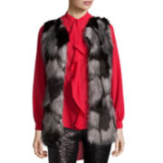 Bisou Bisou® Sleeveless Faux-Fur Vest