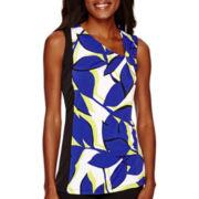 Worthington® Sleeveless Colorblock Top
