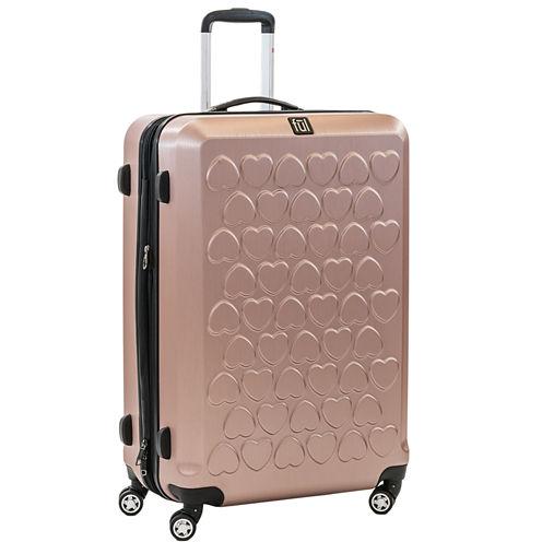 Hardside Gold Lightweight Luggage