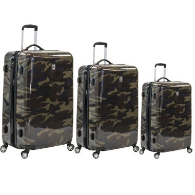jcpenney.com | 3-pc. Hardside Lightweight Luggage Set