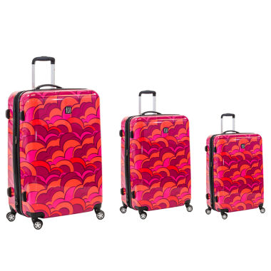 jcpenney.com | Ful 3-pc. Hardside Lightweight Luggage Set
