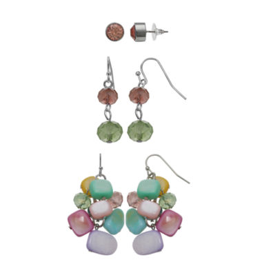 jcpenney.com | Mixit 3-pc. Earring Sets