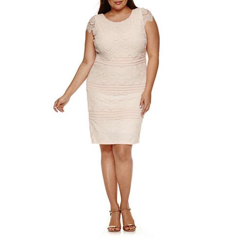 Melrose Sheath Dress-Plus