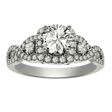 jcpenney.com | Womens 1 CT. T.W. Round White Diamond Platinum Engagement Ring