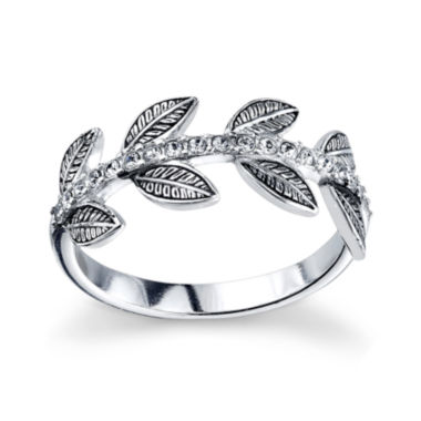 jcpenney.com | Womens White Crystal Band
