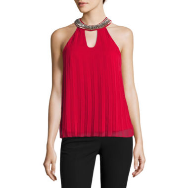 jcpenney.com | Miss Chievous Woven Tank Top-Juniors
