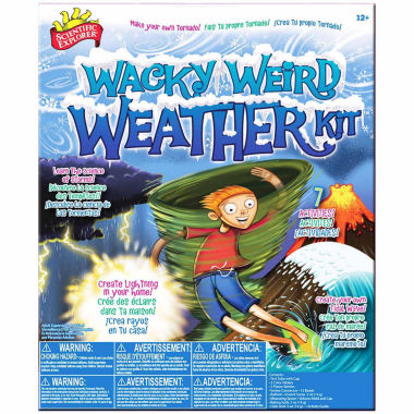 jcpenney.com | Scientific Explorer Wacky Weird Weather Kit Discovery Toy
