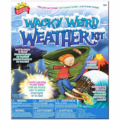 Scientific Explorer Wacky Weird Weather Kit Discovery Toy