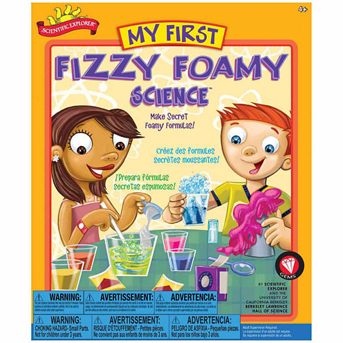 Scientific Explorer My First Fizzy Foamy Science Kit 17-pc. Discovery Toy