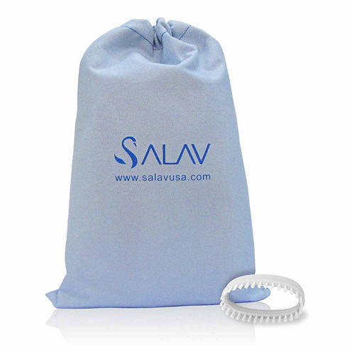 Salav SA102 2-pc. Garment Steamer Brush & Travel Bag Accessory Pack