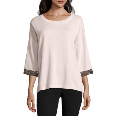 jcpenney.com | By Artisan Long Sleeve Pullover Sweater