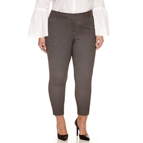 Worthington® Printed Ankle Pants - Plus