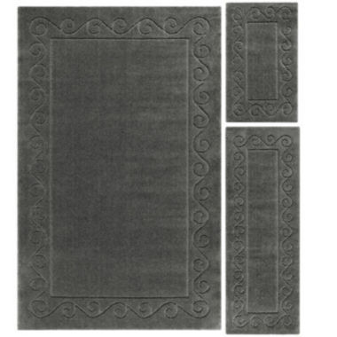 jcpenney.com | JCPenney Home™ Majestic Scroll Border 3-pc. Rug Set
