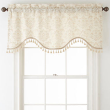 jcpenney.com | Home Expressions™ Somerville Rod-Pocket Scalloped Valance