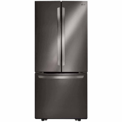 LG ENERGY STAR® 21.8 cu. ft. 3-Door French Door Refrigerator  sc 1 st  JCPenney & LG ENERGY STAR 218 cu ft 3 Door French Door Refrigerator JCPenney