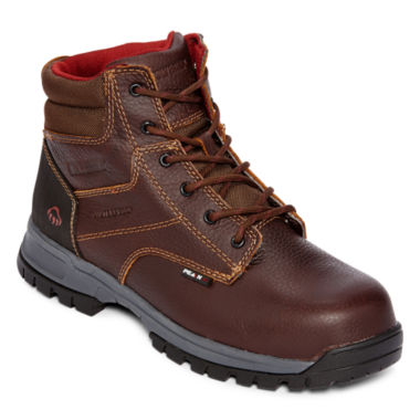 "jcpenney.com | Wolverine® Joliet Mens 6"" Composite-Toe Waterproof Work Boots"