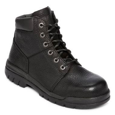 "jcpenney.com | Wolverine® Marquette Mens 6"" Steel-Toe Work Boots"