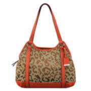 9 & Co.® Forces Of Nature Leopard Shoulder Bag