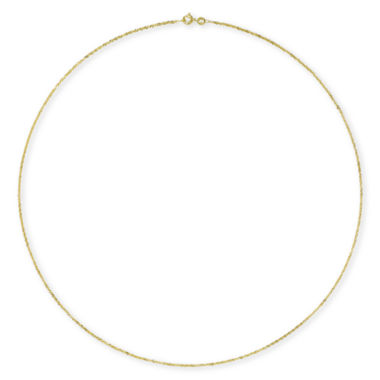 "jcpenney.com | 14K Gold 24"" Singapore Chain"