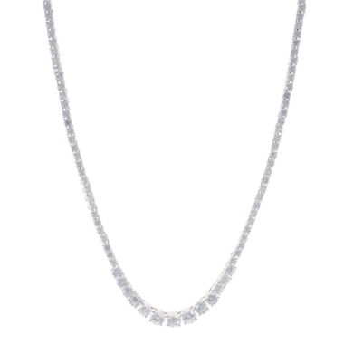 jcpenney.com | CZ by Kenneth Jay Lane Graduated Cubic Zirconia Necklace