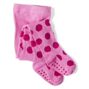 Joe Fresh™ Dotty Tights - Girls 1t-5t