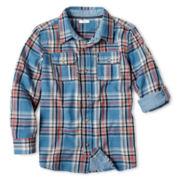 Joe Fresh™ Woven Shirt - Boys 4-14