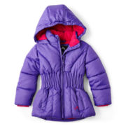Vertical 9 Puffer Jacket - Girls 12m-6y