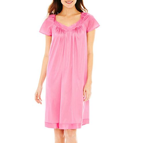 Vanity Fair® Flutter-Sleeve Nightgown
