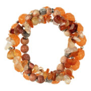 ROX by Alexa 3-pc. Carnelian Stretch Bracelets