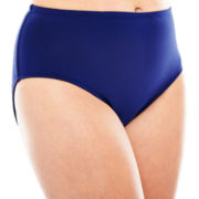 Liz Claiborne® Classic Hipster Swim Bottoms - Plus