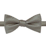 Stafford® Hastings Gingham Pre-Tied Bow Tie