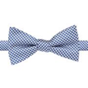 Stafford® Hastings Gingham Self-Tie Bow Tie