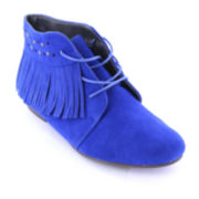 Makers Sally Fringe Ankle Booties