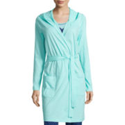 Sleep Chic Belted Hooded Robe