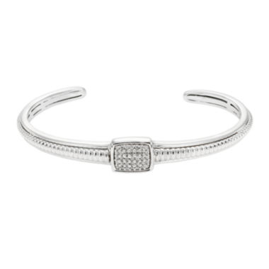 jcpenney.com | LIMITED QUANTITIES 1/5 CT. T.W. Diamond Sterling Silver Bracelet