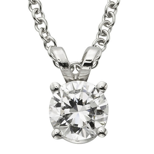 ½ CT. Certified Diamond Solitaire Pendant