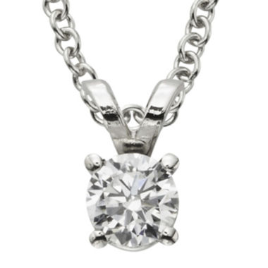 jcpenney.com | ¼ CT. Certified Diamond Solitaire Pendant
