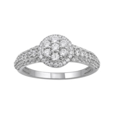 jcpenney.com | 3/4 CT. T.W. Diamond 14K White Gold Ring
