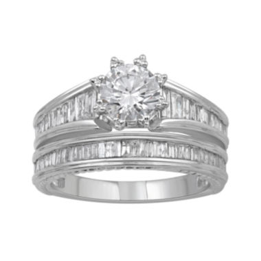 jcpenney.com | 1 3/4 CT. T.W. Certified Diamond 14K White Gold Bridal Ring Set