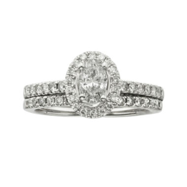 jcpenney.com | Certified Diamond 1 CT. T.W. Certified Diamond 14K White Gold Bridal Set