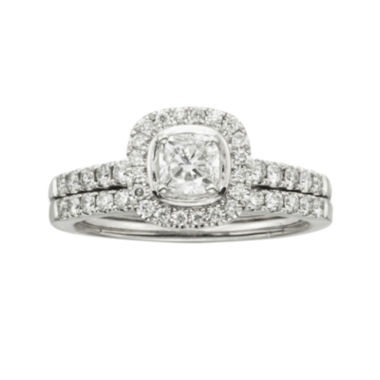 jcpenney.com | Certified Diamonds 1 CT. T.W. Diamond 14K White Gold Bridal Set