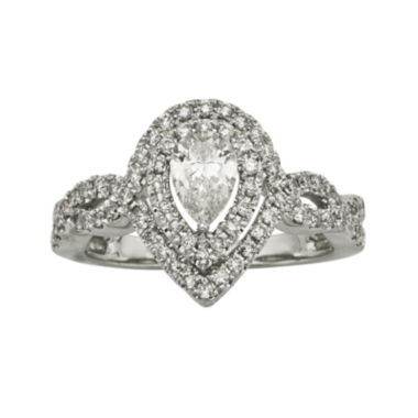 jcpenney.com | 1 CT. T.W. Certified Diamond 14K White-Gold Engagement Ring
